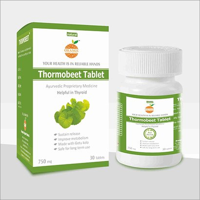 Thormobeet Thyroid Tablets Age Group: For Adults
