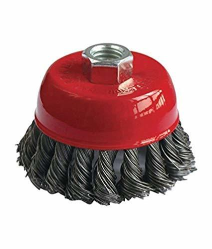 Wire Wheel Cup Brush (Black)