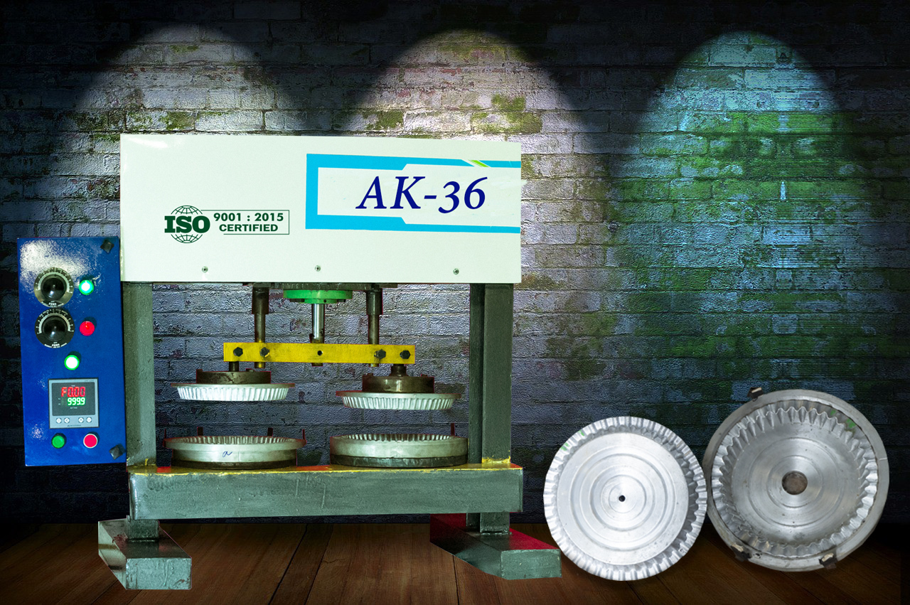 Semi Automatic Paper Plate Machine
