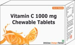Vitamin C 1000 Mg Chewable Tablets / Ascorbic Acid Chewable Tablets 1000 Mg