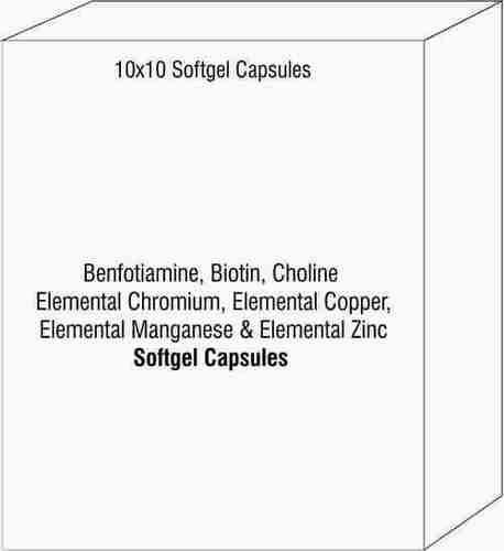 Benfotiamine Biotin Choline Elemental Chromium Elemental Copper Elemental Manganese Elemental Zinc