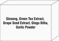 Ginseng Green Tea Extract Grape Seed Extract Gingo Bilba Garlic Powder