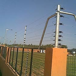 Solar Security Power Fences
