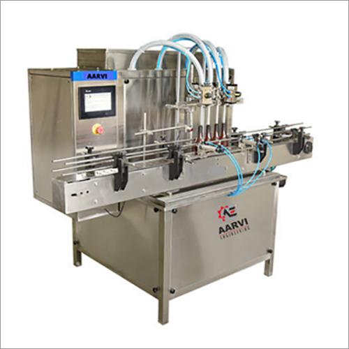 Servo Based Liquid Filling Machine