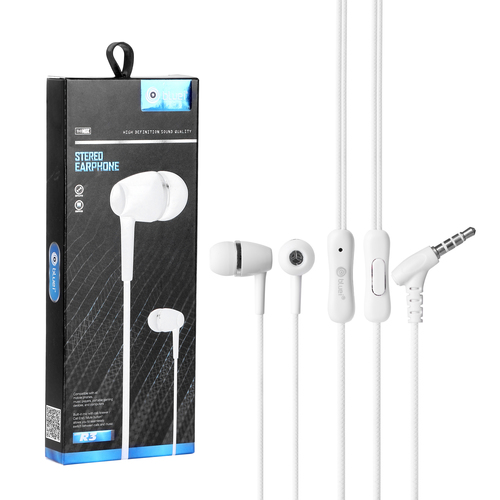 Bluei Rambo R3 With mic, Heavy Bass Superior Sound Stereo Earphone
