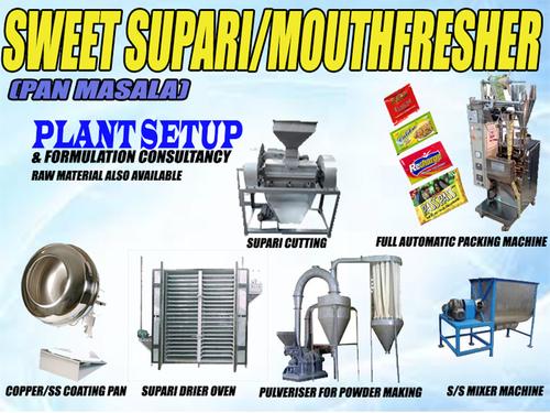 Mouth Freshner and Sweet Supari Making Machine