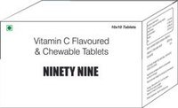 Vitamin C Flavoured & Chewable Tablet