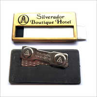 Hotel Reusable Name Badges