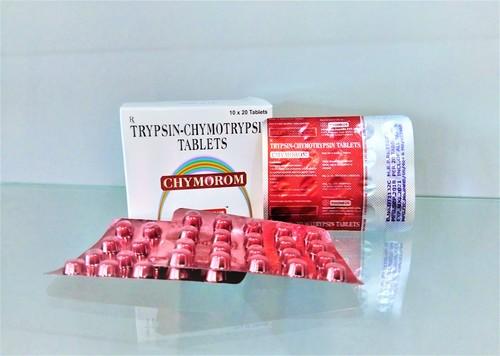 Tripsin Chymotripsin 100000 A.U.