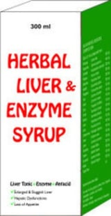 Herbal Liver, Enzyme And Antacid Syrup