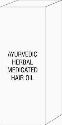 AYURVEDIC HERBAL MEDICATED HAIR OIL