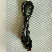 Silk Fabric Braided Data Cable