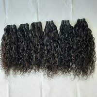 Single Donor Curly Temple Hair,Raw unprocessed hair