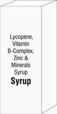 Lycopene, Vitamin B-Complex, Zinc & Minerals Syrup