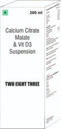 Calcium Citrate Malate & Vitamin D3 Suspension