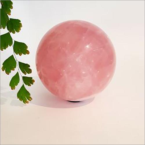 Rose Quartz  agate Ball