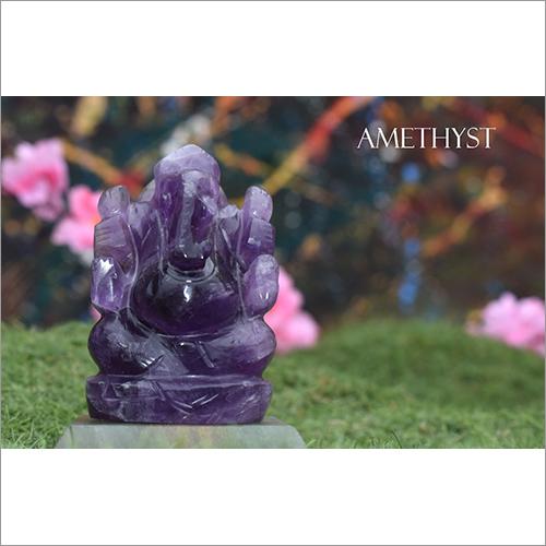Amethyst Ganesh Statue