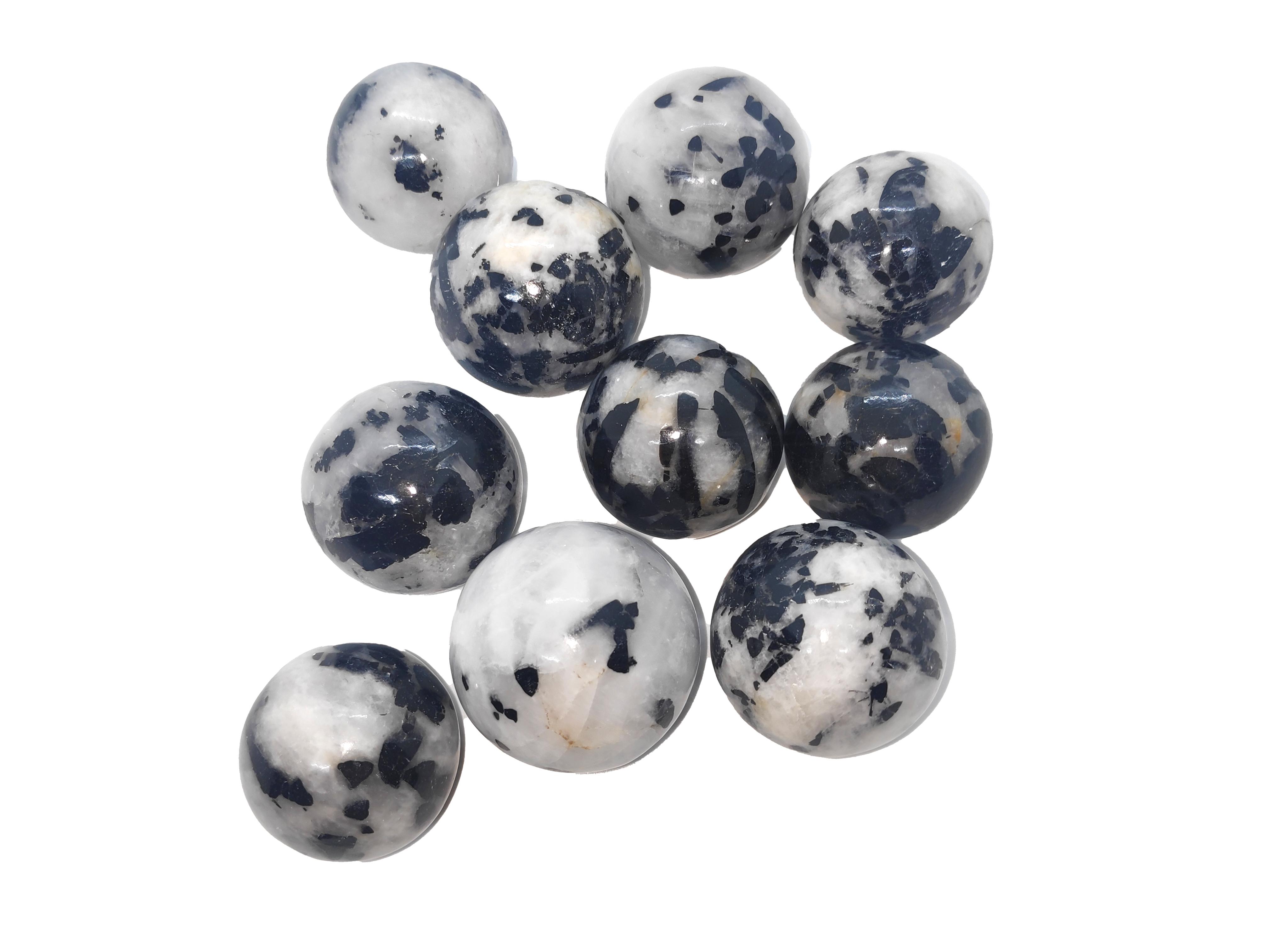 Black Tourmaline Spheres Gemstones