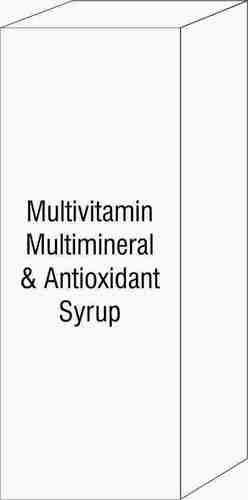 Multivitamin Multimineral & Antioxidant Syrup