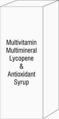 Multivitamin Multimineral Lycopene & Antioxidant Syrup