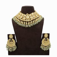 Pachi Kundan Necklace Set