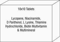 Lycopene Niacinamide D Panthenol L Lysine Thiamine Hydrochloride Biotin Multivitamin & Multimineral