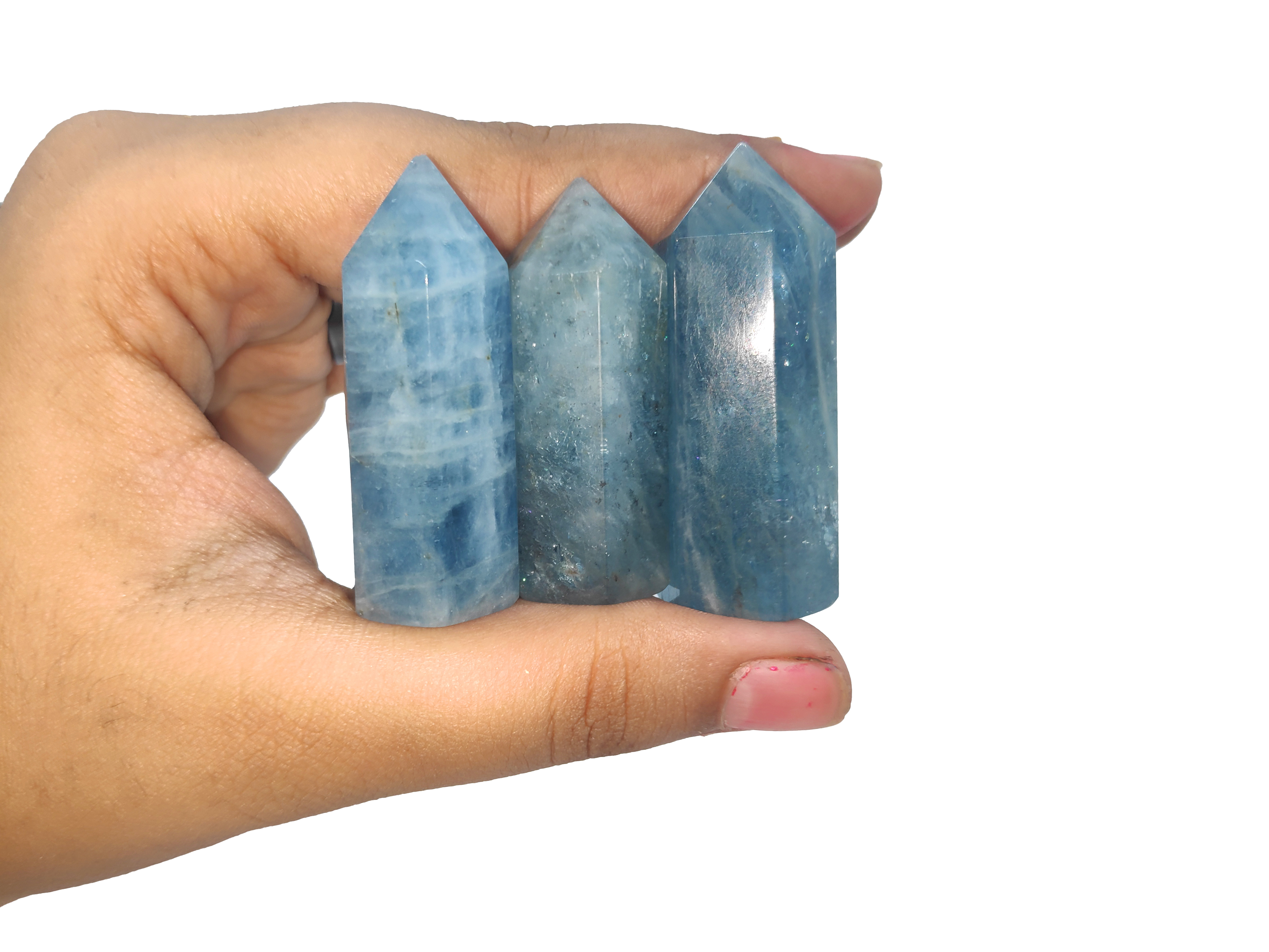 Aquamarine Mini Tower Gemstones