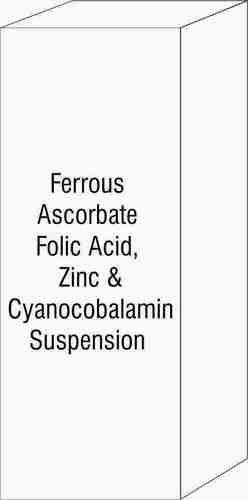 Ferrous Ascorbate Folic Acid Zinc & Cyanocobalamin Suspension