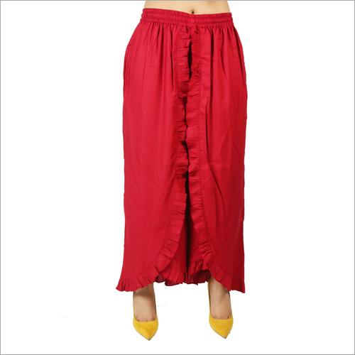 Rayon Skirt Palazzo