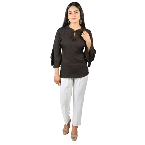 Ladies Rayon Top With Rayon Pant