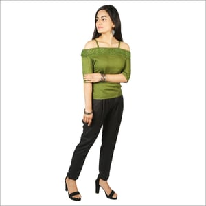 Ladies Rayon Top With Pant