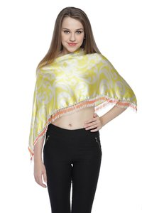 Satin Digital Printed Triangle Scarf
