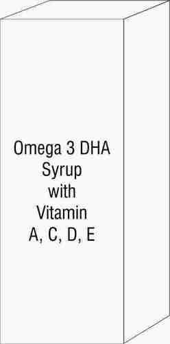 Omega 3 DHA Syrup with Vitamin A, C, D, E