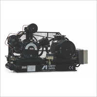 0.5 HP - 40 HP Oil Lubricated Base Mounted Compressor