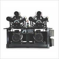 0.5 HP - 40 HP Oil Lubricated Duplex Compressor