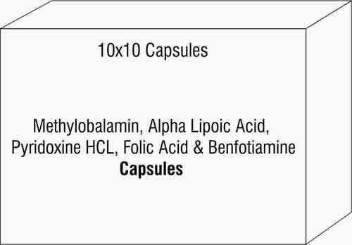 Methylobalamin Alpha Lipoic Acid Pyridoxine Hcl Folic Acid & Benfotiamine Capsule