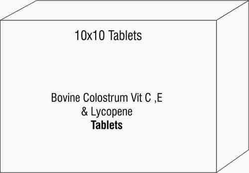 Bovine Colostrum Vit C ,E & Lycopene Tablets