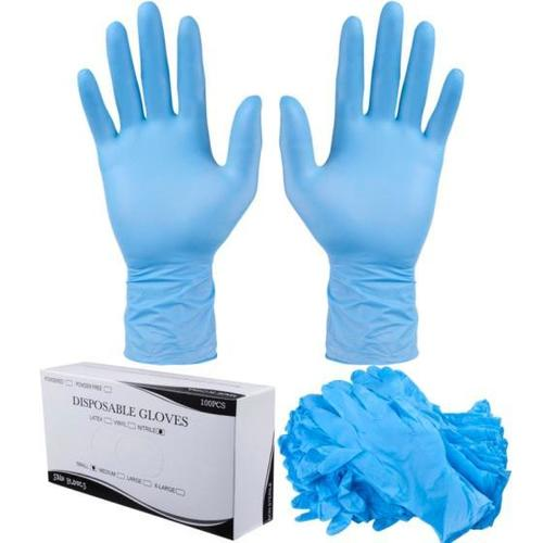 Factory Price Nitrile in Nitrile Gloves Disposable Hand Gloves