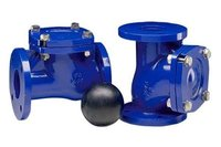 Normex Cast Iron Ball Check Valve Type Non Return Flanged