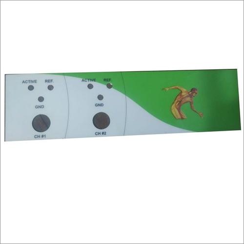 258x73 Mm Neuroscan Machine Polycarbonate Sticker