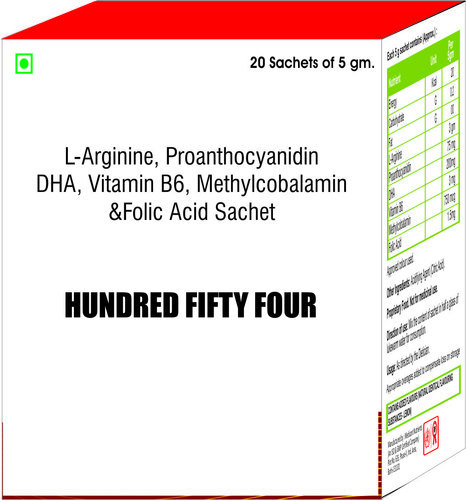 Proanthocyanidin DHA , Vitamin B6 and Folic Acid Sachet