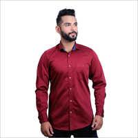 Mens Cotton Plain Casual Shirts