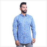 Mens Printed Cotton Casual Shirts