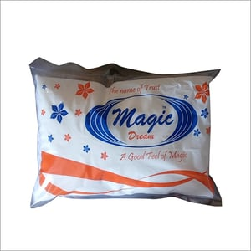 Magic Dream Cotton Pillow, Size: 16x24, 17x27, White
