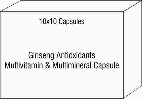 Ginseng Antioxidants Multivitamin & Multimineral Capsule