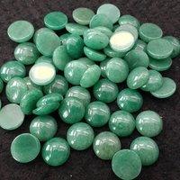 11mm Green Aventurine Round Cabochon Loose Gemstones