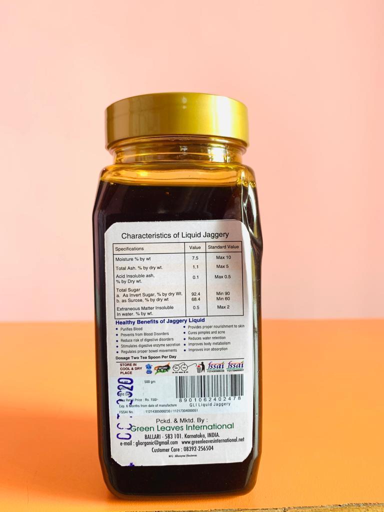 Organic Liquid Jaggery