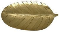 Whole Salling Leaf Gold Plate