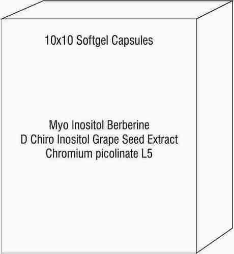 Myo Inositol Berberine D Chiro Inositol Grape Seed Extract Chromium picolinate L5