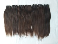 No Shedding No Tangle Thick End Straight Hair Weft